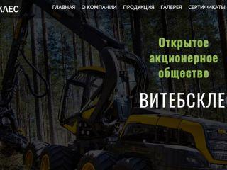 "Создание корпоративного сайта для ОАО ""Витебсклес"" - агентство 50 текс, Витебск"